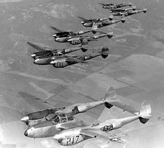 p 38 lightning -  The Japanese were afraid when they saw these approach.