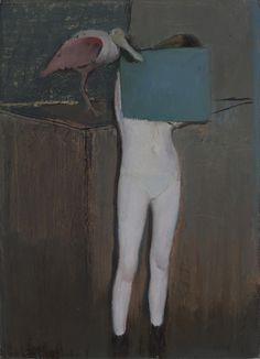Alexander tinei- 2013. Bird. 52 x 38 cm. Oil on canvas.