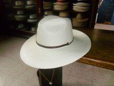 Sombrero Panamá Fedora Sedona Ala Ancha.