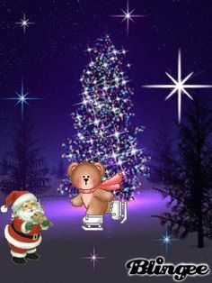 this page features images that tracey a wood would like to share christmas scenes - Animated Christmas Pictures