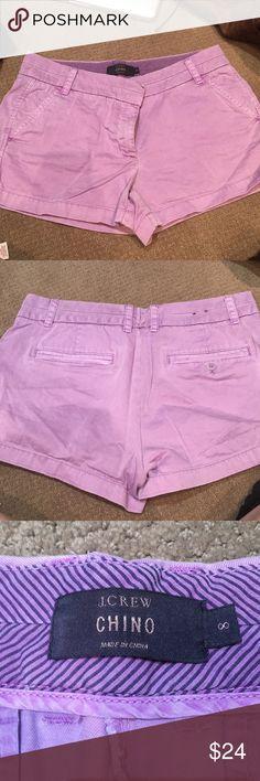 J crew shorts Purple j crew chino shorts. Size 8 J. Crew Shorts