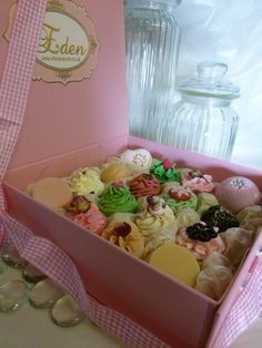 Edens Secret - cupcake soaps - adorable!