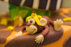 Como Hacer Figuritas de Fondant para Pasteleria, Hoy hacemos un Mono