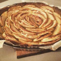 Tarte aux pommes maison sans gluten
