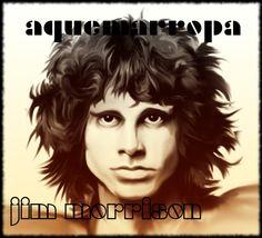 Dibujo del rostro icónico de Jim Morrison. #JimMorrsion #TheDoors #Rock