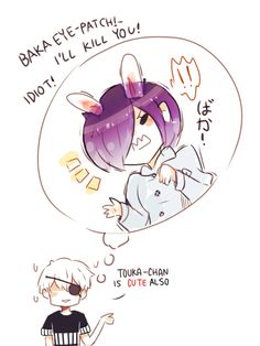 Kaneki x Touka // TouKen 2/2