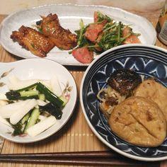 遅い夕食つか晩酌野菜が美味い()