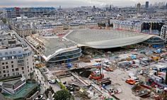 Paris hopes €1bn revamp of Les Halles can become city's 'beating heart' #Arts_and_Culture #iNewsPhoto