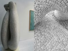 British artist Tony Cragg uses thousands of dice to literally be the building blocks of this fascinating sculpture he unveiled at FIAC in Paris back in 2011.