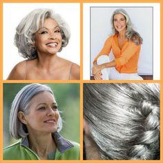 Como cuidar de cabelos grisalhos