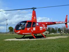 Robinson R44 Helicopter Round the World