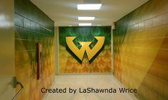 Inside Matthaei Building at Wayne State University (Detroit, Michigan)