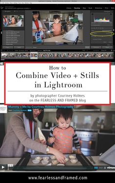How to Combine Video Stills in Lightroom with 10 Easy Steps Photoshop Photography, Photography Tutorials, Photography Tips, Lifestyle Photography, Lightroom Workflow, Lightroom Tutorial, Photoshop Actions, Video Editing, Photo Editing