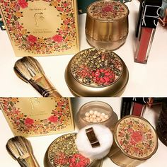 My New cushion and B.B. Ball Powder from The History of Whoo, Nars velvet lip glide-playpen, beautiful colour  love it #shoppingnight #thehistoryofwhoo #bbcushion #bbballpowder #nars #narslipgloss #newin #koreanmakeup #whatibought #fashion #style #cosmetics #thursdaynight #glide4vibe