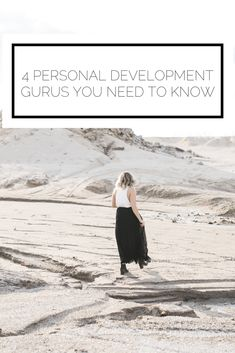Click to read now, or pin to save for later! If you're the type of person who always wants to improve their life, this guide on personal development gurus is for you