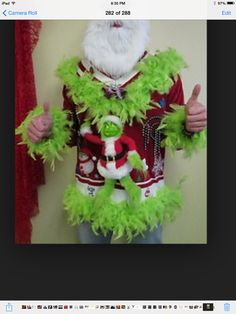 Grinch Christmas Sweater, Tacky Christmas Party, Funny Christmas Movies, Christmas Jumpers, Holiday Sweater, Christmas Games, Santa Christmas, Christmas Decor, Christmas Ideas