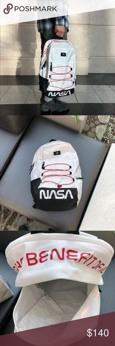 VANS X NASA MN SNAG PLUS BACKPACK WHITE VANS X NASA MN SNAG PLUS BACKPACK  WHITE New w  tags Vans Bags Backpacks 9a5677a407