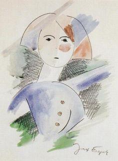 Poprsí dívky (1916-1918)