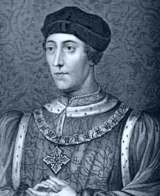 Henry VI was the only child of Henry V & Catherine of Valois, born 6 December 1421. He married Margaret of Anjou in 1445; the union produced one son, Edward, who was killed in battle 1 day before Henry's execution. Henry came to the throne as an infant after the early death of his father; in name he was king of both England & France, but a protector ruled each realm. The whole of Henry's reign was involved with retaining both of his crowns - in the end, he held neither.