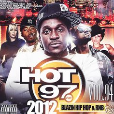 Hot 97 Blazin' Hip Hop & R Vol. 94 Collectors Edition Mixtape CD