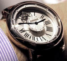 Cartier Rotonde Astrotourbillon Watch Hands On   hands on