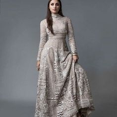 How about this look of Parineeti for Brides Today, Yay or Nay? Indian Wedding Gowns, Indian Bridal Sarees, Pakistani Bridal Wear, Indian Dresses, Indian Outfits, Indian Clothes, Indian Weddings, Wedding Dresses, Lehenga Designs