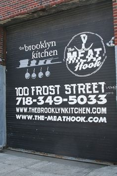 Brooklyn Kitchen- Must go here