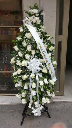 Funeral Floral Arrangements, Beautiful Flower Arrangements, Beautiful Flowers, Casket Flowers, Funeral Flowers, Wedding Flowers, Funeral Sprays, White Flowers, All Flowers