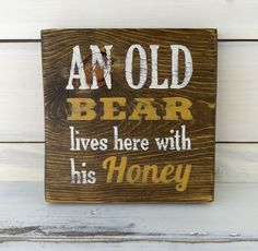 This charming hand-lettered distressed sign looks great standing on a shelf or hanging on a wall. Great Mothers day gift. I start with pine wood