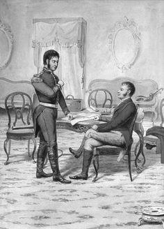 Entrevista de San Martín y Pueyrredón, Cordoba 1816, M. Rosso