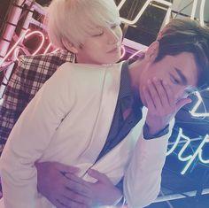 Heechul and Donghae ❤