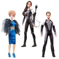 Hunger Games Catching Fire Barbie Doll Case - Mattel - Hunger Games - Dolls at Entertainment Earth