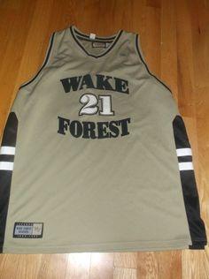 Mens Jersey Hardwood Legends 5XL Wake Forest Black Gold Demon Deacons 21  Duncan  HardwoodLegends  WakeForestDemonDeacons 8ec437d69ec5