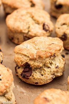 Cherry and Chocolate Scones-the flakiest scones you will ever serve with your tea!: