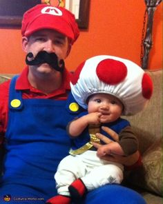Mario, Luigi and Toad - Halloween Costume Contest