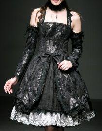 Robe gothique lolita PYON PYON