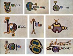 Reproducing the Book of Kells - The Book of Kells - Trinity College Dublin Trinity Library, Trinity College Dublin, Early Christian, Christian Art, Painted Initials, Green Knight, Book Of Kells, Victoria And Albert Museum, New Opportunities