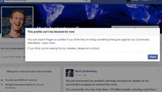 You can try as hard as you want, but you can't block Mark Zuckerberg on…