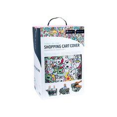 """Unikiki"" a Tokidoki Shopping Cart Cover"