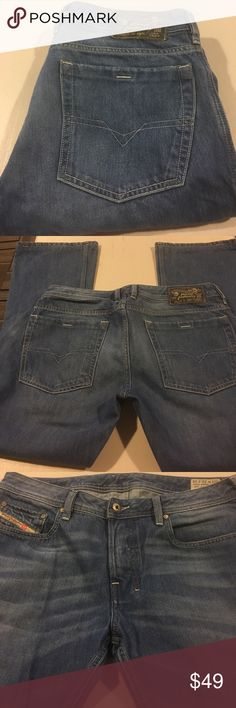 4e0bdbb8 Diesel Zathan regular bootcut inseam Made in Italy. Great used condition Diesel  Jeans Bootcut