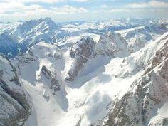 La vista sulle Dolomiti dalla Marmolada #trentino