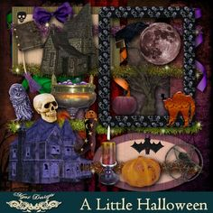 My Design, Kit, Halloween, Scrapbooking, Painting, Painting Art, Scrapbook, Paintings, Draw