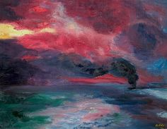 """Emil Nolde: painting ? """"What a beautiful palette!"""""""