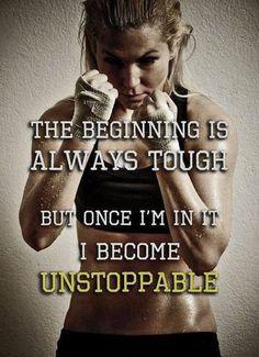 Unstoppable       #fitness #motivation