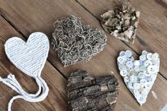 Rustic valentines you won't want to take down... or give away. Oops......»FOLK Magazine's#ValentinesDay