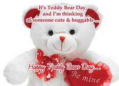 teddy bear day wishes for friends