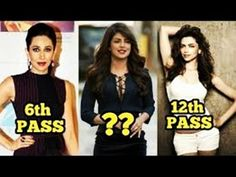 Top 10 Less Educated Bollywood Celebrities