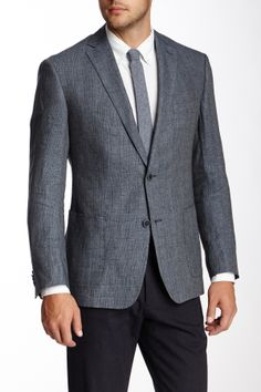How a suit jacket should fit. LOVE IT!