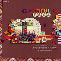 Layout: Colorful Fall