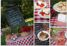 Strawberry Fields Wedding Theme